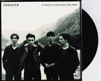 INHALER It Won't Always Be Like This Vinyl Record 7 Inch Polydor 2020